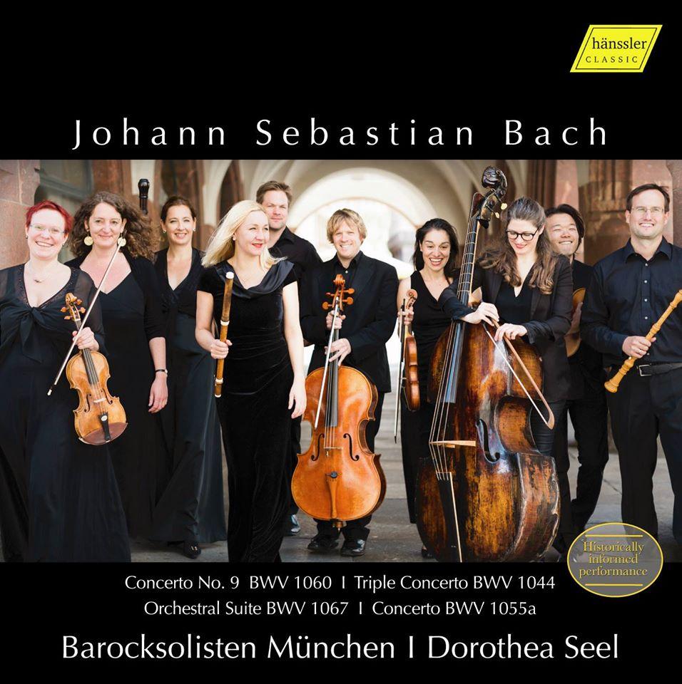 New CD – Bach –Barocksolisten München | Dorothea Seel