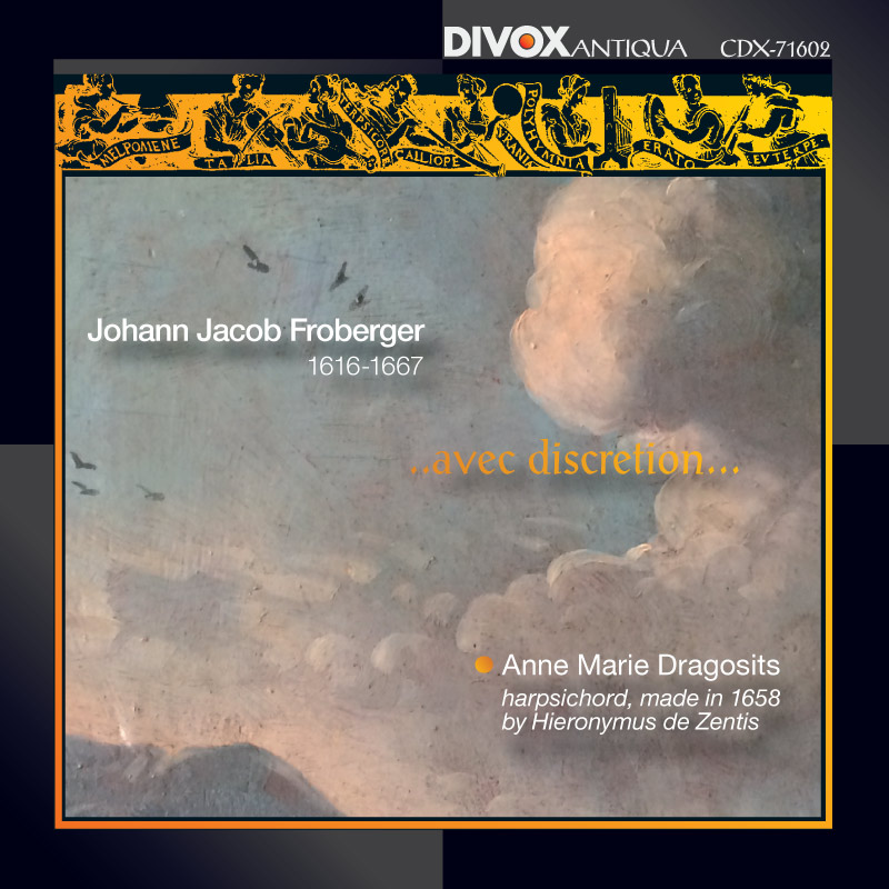 New CD released in October 2016: Johann Jacob Froberger